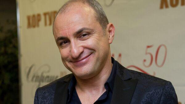 Художественный руководитель и арт-директор Хора Турецкого Михаил Турецкий. Архив