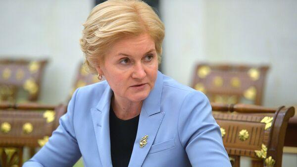 Заместитель председателя правительства РФ Ольга Голодец. Архивное фото.