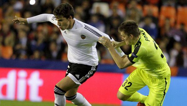 Матч Валенсия - Гент в Лиге чемпионов, 20 октября 2015