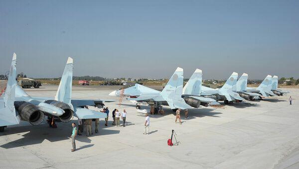 Истребители СУ-30СМ готовятся к взлету