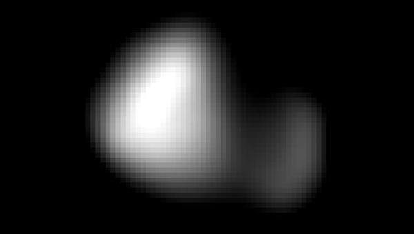Опубликовано изображение крошечного спутника Плутона