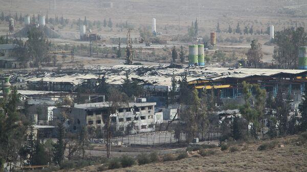 Спецоперация сирийской армии и нацополчения в городе Хараста в пригороде Дамаска. Архивное фото