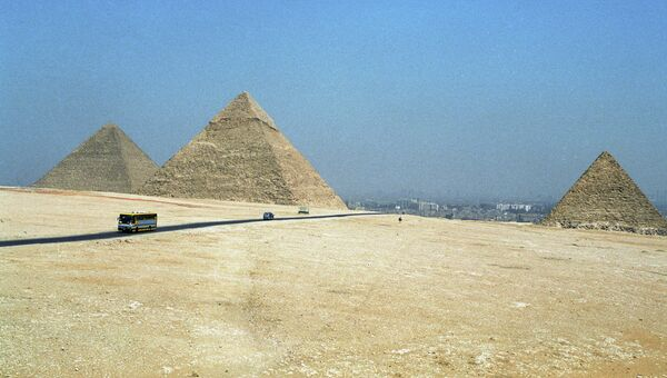 Пирамиды в Гизе. Архивное фото
