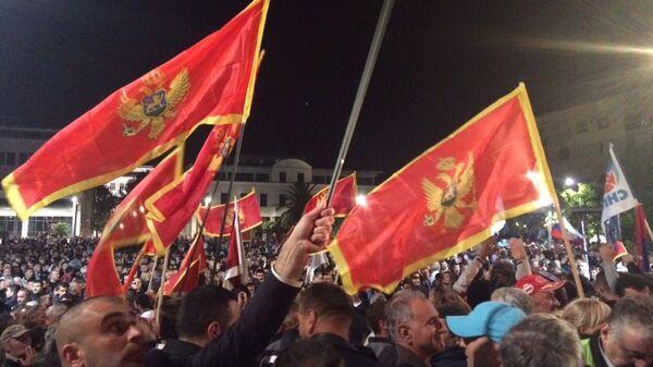 Протесты в Черногории. Архивное фото