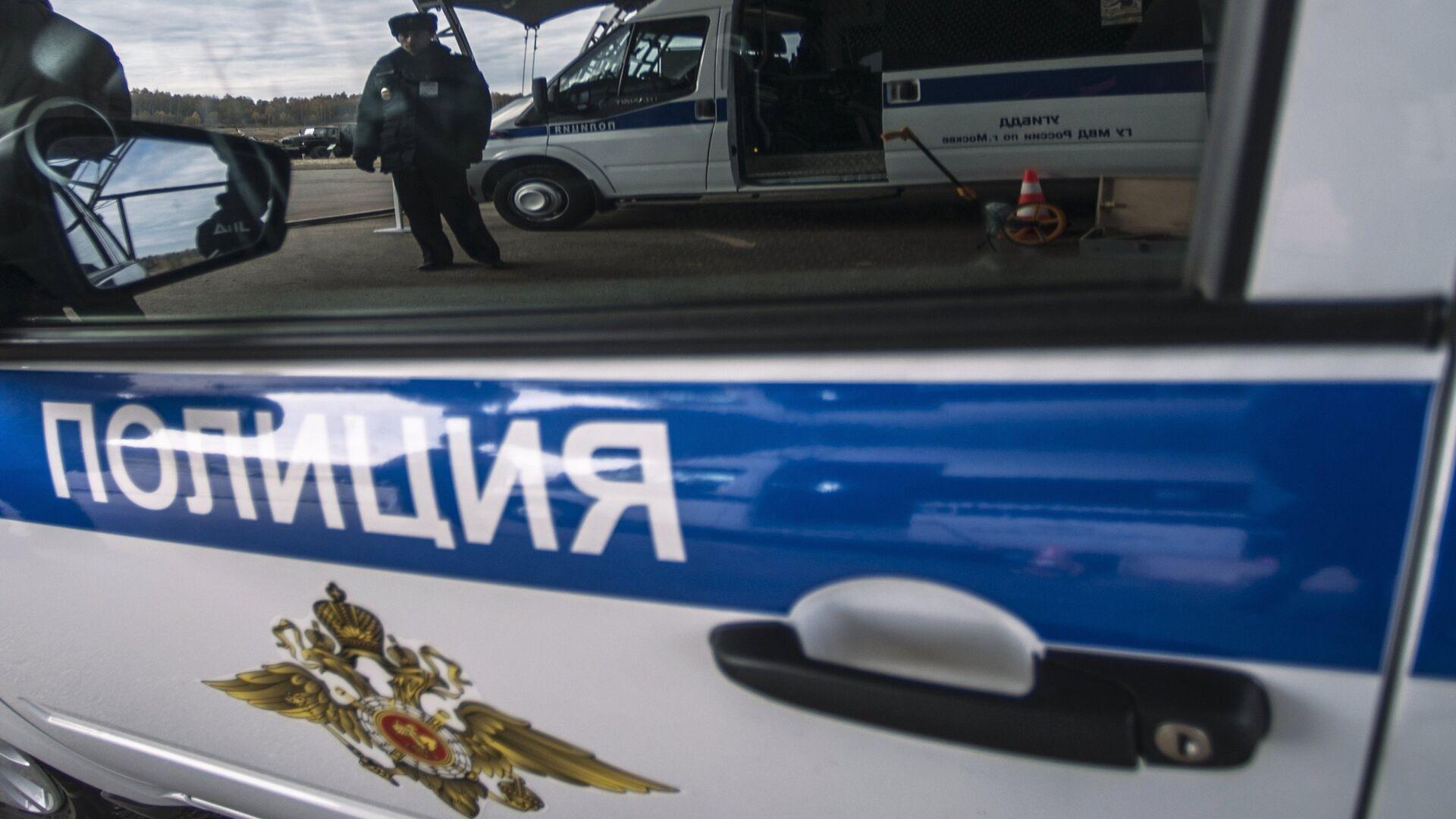 Машина полиции. Архивное фото - РИА Новости, 1920, 27.02.2021