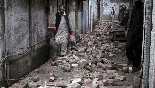 Последствия землетрясения в Мингоре, Пакистан