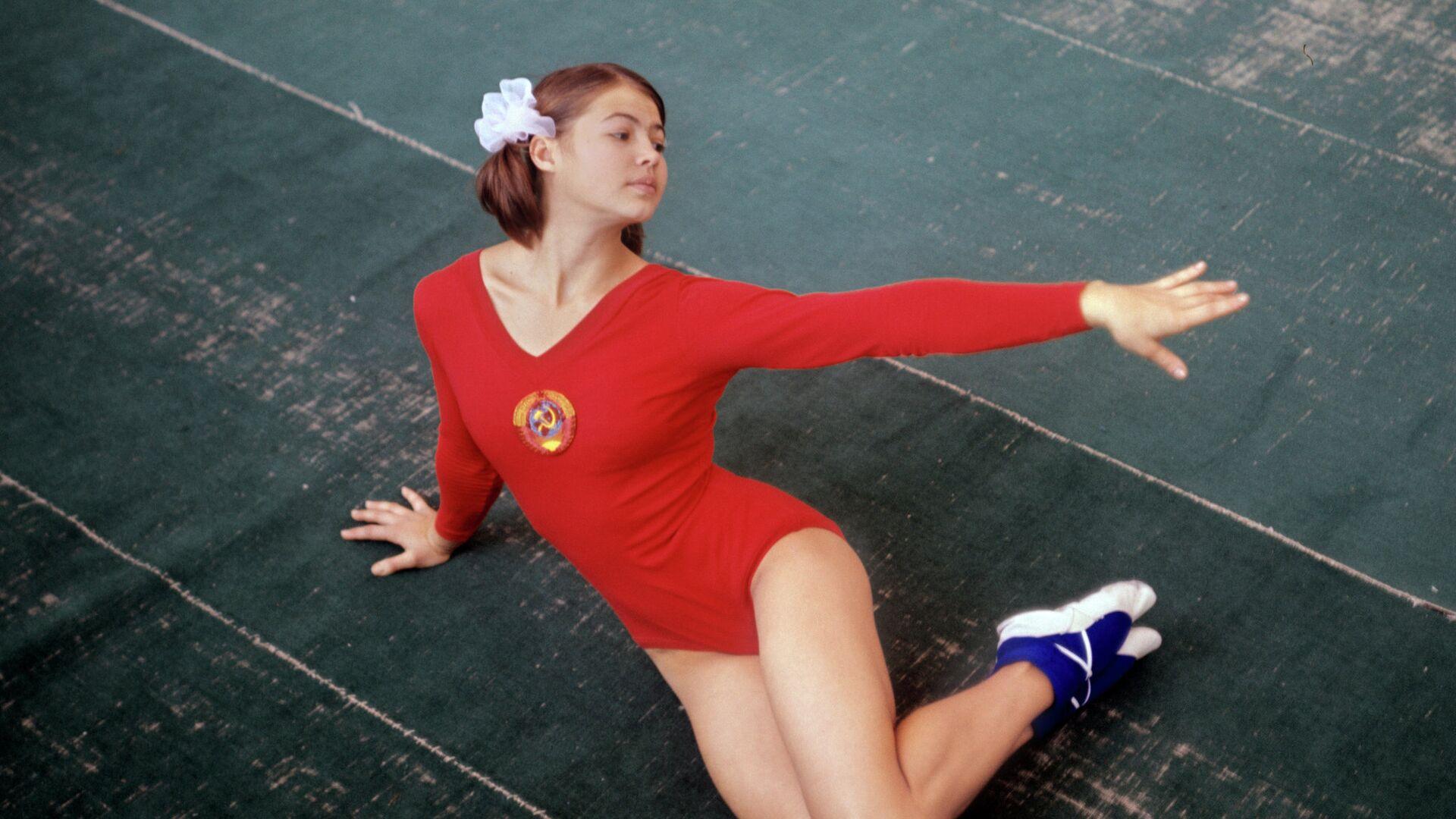 Чемпионка Олимпийских игр 1968 года по спортивной гимнастике, заслуженный мастер спорта СССР Людмила Турищева - РИА Новости, 1920, 30.07.2021