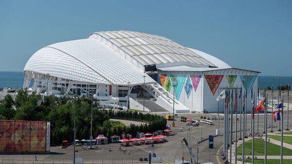 Олимпийский стадион Фишт в Олимпийском парке в Сочи. Архивное фото