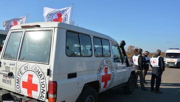 Красный крест. Архивное фото