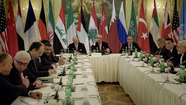 Встреча по Сирии в Вене. Архивное фото
