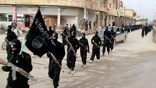 Боевики группировки Исламское государство (ДАИШ). Архивное фото