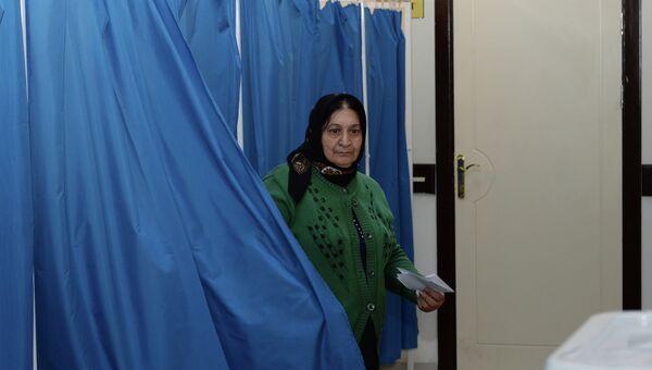 Парламентские выборы в Азербайджане. Архивное фото