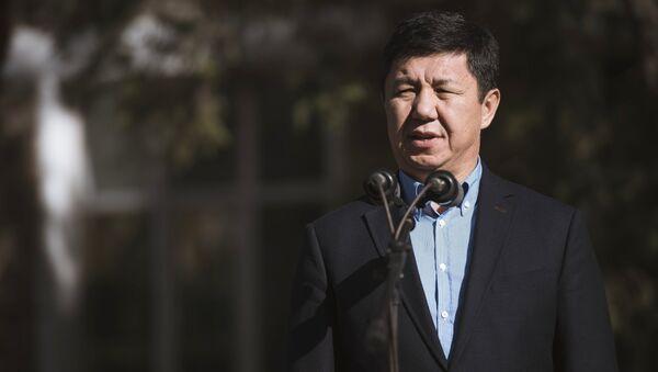 Премьер-министр Киргизии Темир Сариев. Архивное фото