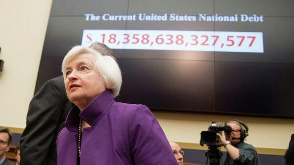 Председатель Федеральной резервной системы Джанет Йеллен. Архивное фото