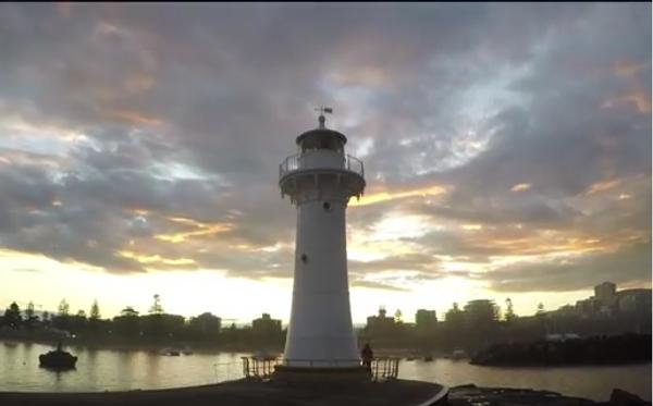 Одинокий маяк