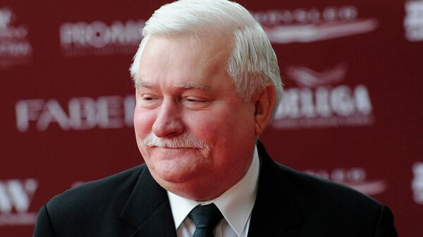 Бывший президент Польши, первый руководитель профсоюза Солидарность Лех Валенса. Архивное фото
