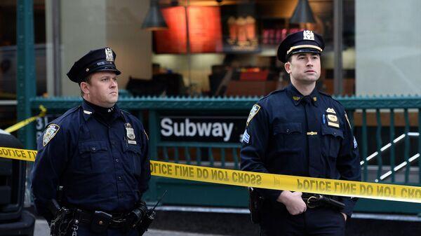 Полицейские Нью-Йорка. Архивное фото