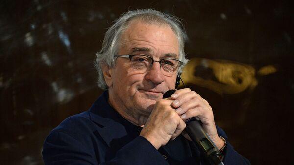 Американский актер, режиссер и продюсер Роберт Де Ниро на открытии ресторана Nobu Crocus City в Москве