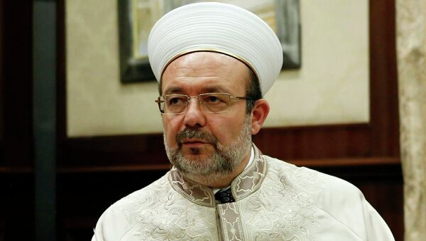 Глава Управления по делам религии Турции Мехмет Гермез