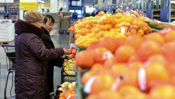 Цитрусовые в продаже в России. Архивное фото