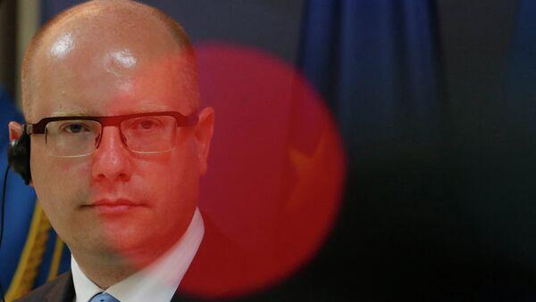 Премьер-министр Чехии Богуслав Соботка. Архивное фото