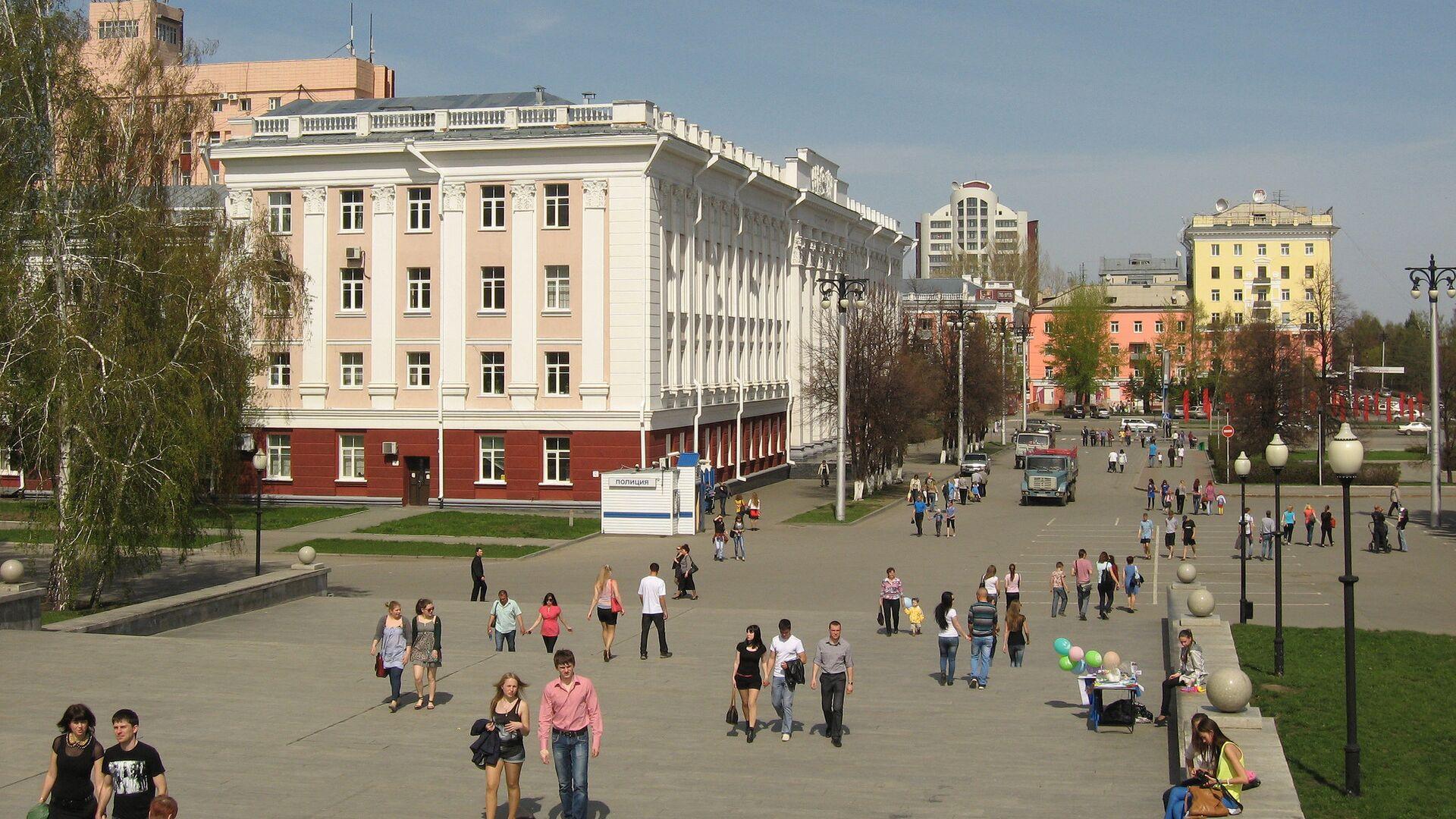 Вид Барнаула - РИА Новости, 1920, 22.03.2021