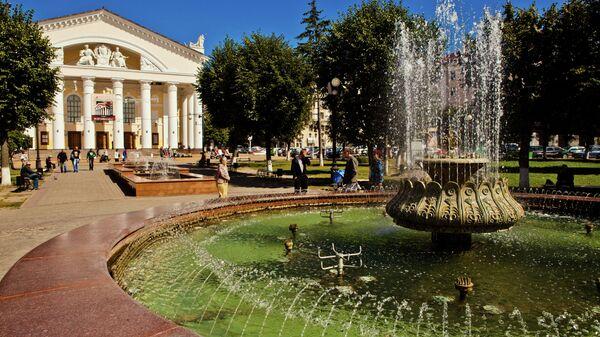 Здание Калужского драматического театра на Театральной площади