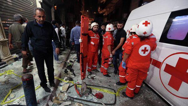 Скорая помощь в Ливане. Архивное фото