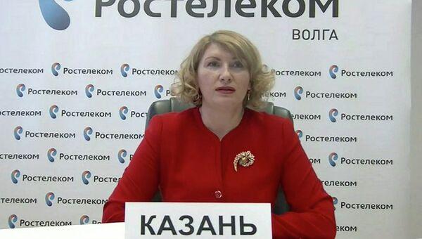 Заместитель министра образования и науки Республики Татарстан Лариса Сулима