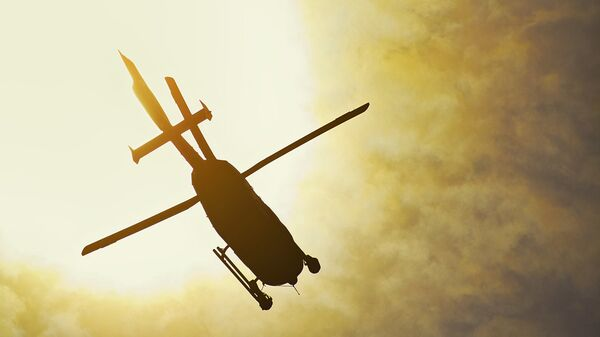 Вертолет. Архивное фото