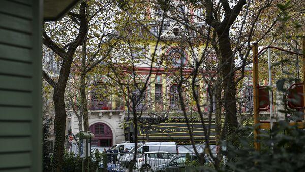 Театр Батаклан в Париже, где произошел один из серии терактов