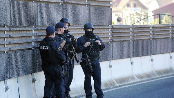 Полиция Сербии. Архивное фото