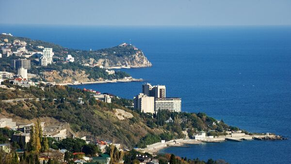 Вид на южный берег Крыма. Архивное фото.