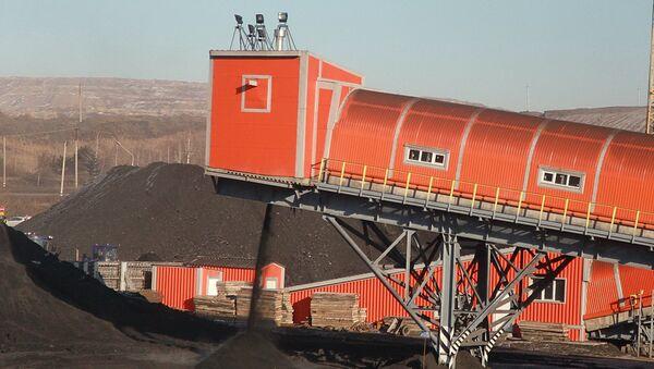 Открытие реконструированного обогатительного модуля шахты Талдинская-Западная-1 ОАО СУЭК-Кузбасс
