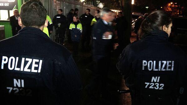 Полиция в Ганновере