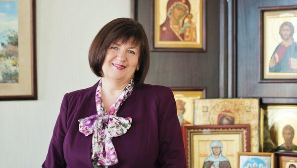 Председатель попечительского совета всероссийской программы Святость материнства Наталья Якунина. Архивное фото
