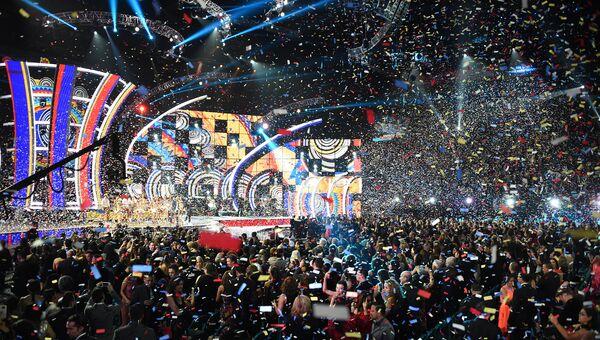 Церемонии вручения Latin Grammy Awards в Лас-Вегасе. Ноябрь 2015