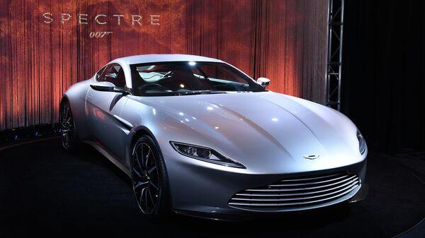Автомобиль Джеймса Бонда Aston Martin DB10, за рулем которого мечтают прокатиться 57% опрошенных россиян. Архивное фото