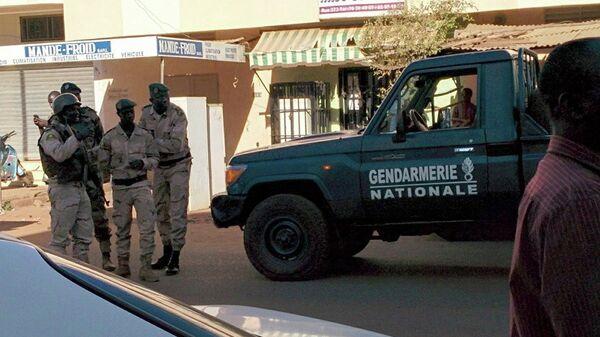 Сотрудники сил безопасности Мали в городе Бамако. Архивное фото