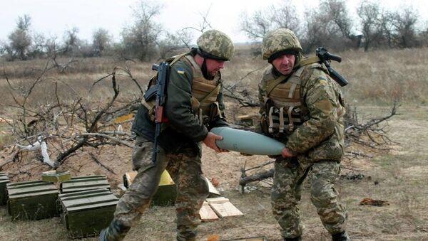 Артиллеристы ВСУ. Архивное фото