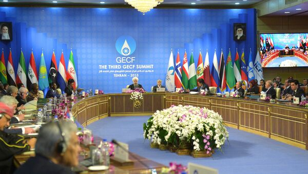 Заседании саммита стран-участниц Форума стран-экспортеров газа (ФСЭГ). Архивное фото