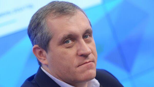 Заместитель главного редактора газеты Известия Борис Межуев