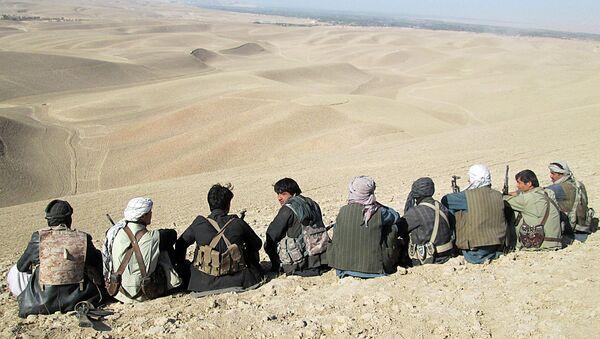 Сторонники правительственных войск в провинции Кундуз, Афганистан. Архивное фото