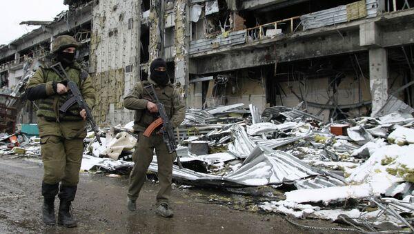 Ситуация в Донецк. Архивное фото