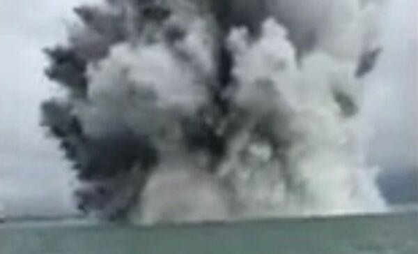Взрыв морской мины