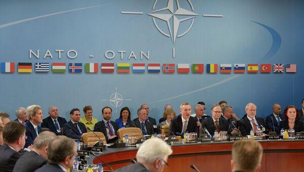 Сессия министров иностранных дел стран НАТО, на которой Черногорию пригласили стать членом альянса. Декабрь 2015