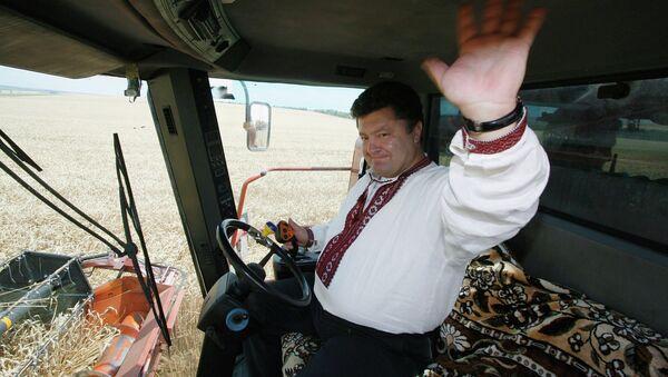 Министр иностранных дел Украины Петр Порошенко. 9 октября 2009 года