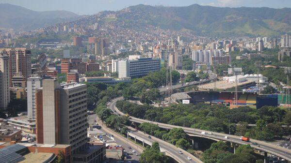 Вид на Каракас. Архивное фото.