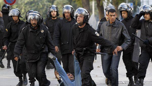 Жасминовая революция в Тунисе. Архивное фото