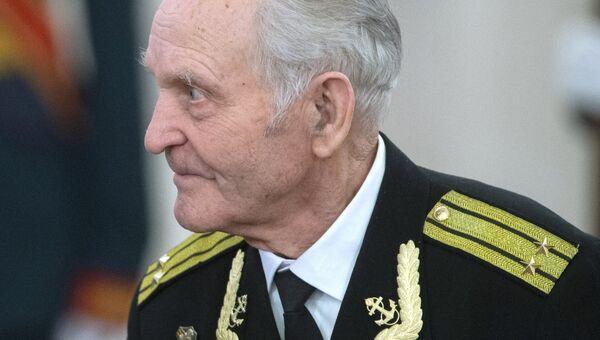 Участник штурма Рейстага весной 1945 года Николай Беляев. Архивное фото